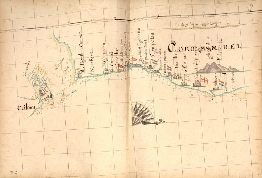 A Description of the Sea Coasts in the East Indies - 49) Ceiloan, Coramandel (1690)