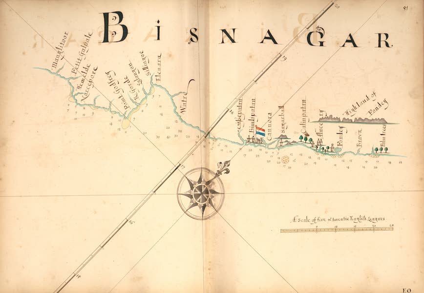 A Description of the Sea Coasts in the East Indies - 51) Bisnagar [II] (1690)