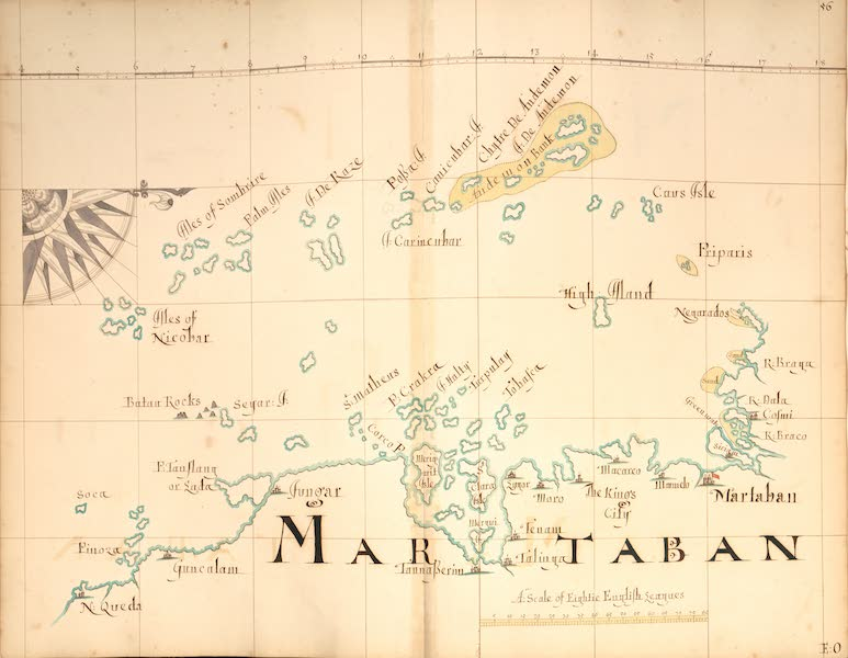 A Description of the Sea Coasts in the East Indies - 56) Martaban (1690)