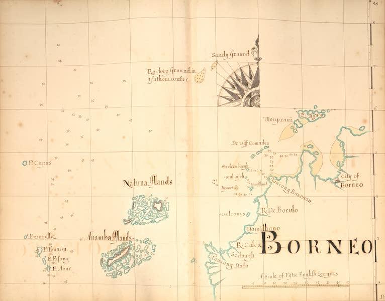 A Description of the Sea Coasts in the East Indies - 58) Borneo (1690)