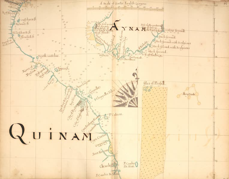 A Description of the Sea Coasts in the East Indies - 62) Quinam, Aynam (1690)