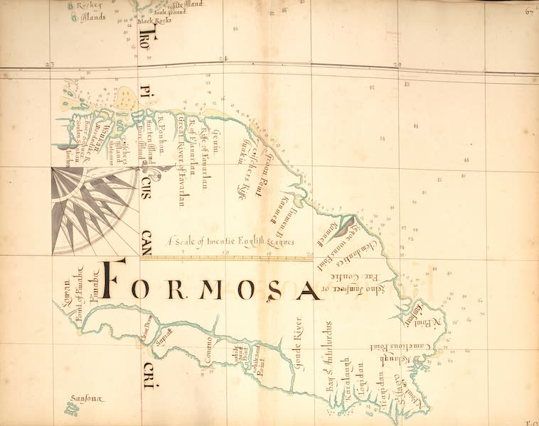 A Description of the Sea Coasts in the East Indies - 67) Formosa [I] (1690)