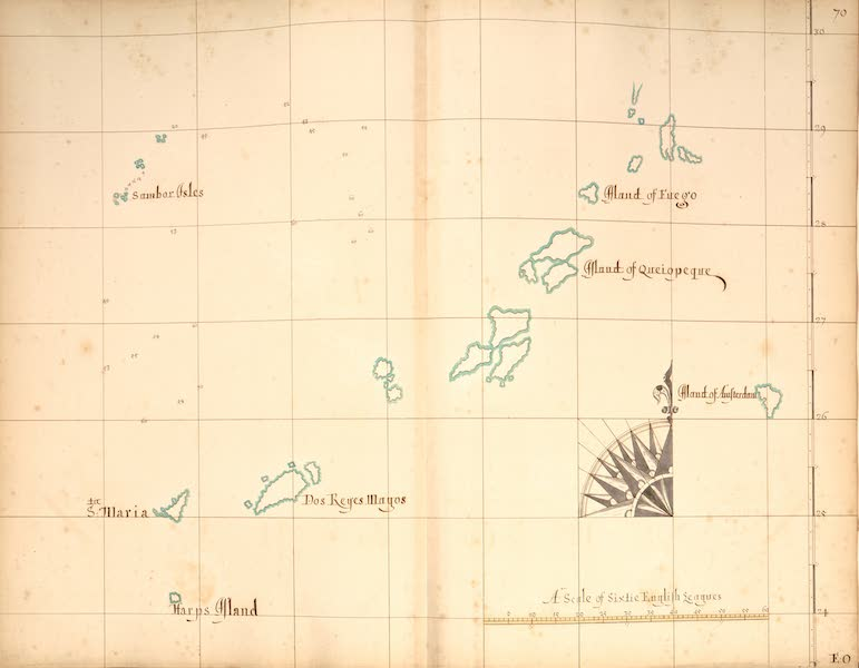A Description of the Sea Coasts in the East Indies - 70) Islands [I] (1690)