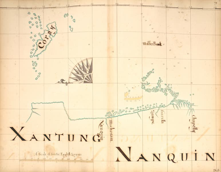 A Description of the Sea Coasts in the East Indies - 71) Xantung, Nanquin (1690)