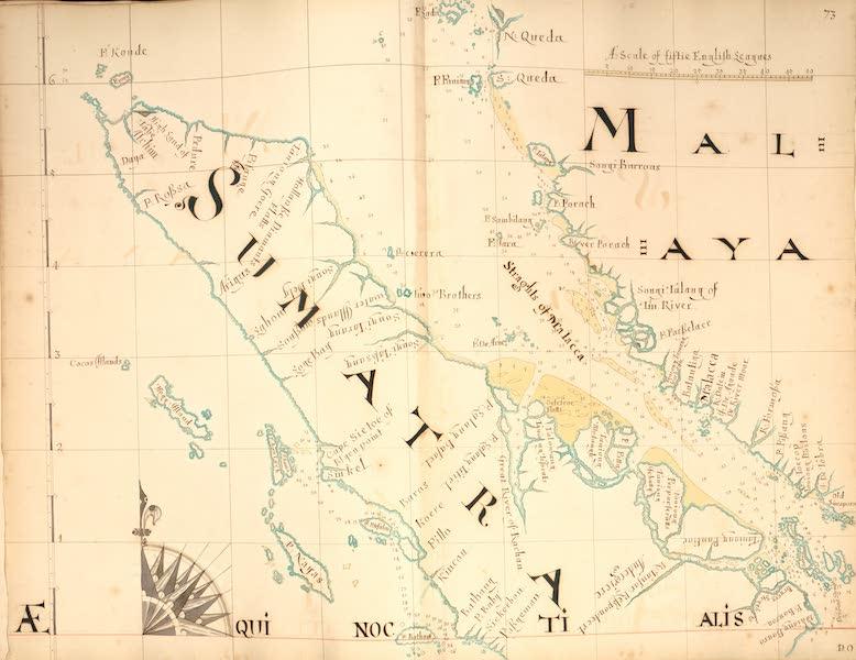 A Description of the Sea Coasts in the East Indies - 73) Sumatra, Malaya (1690)