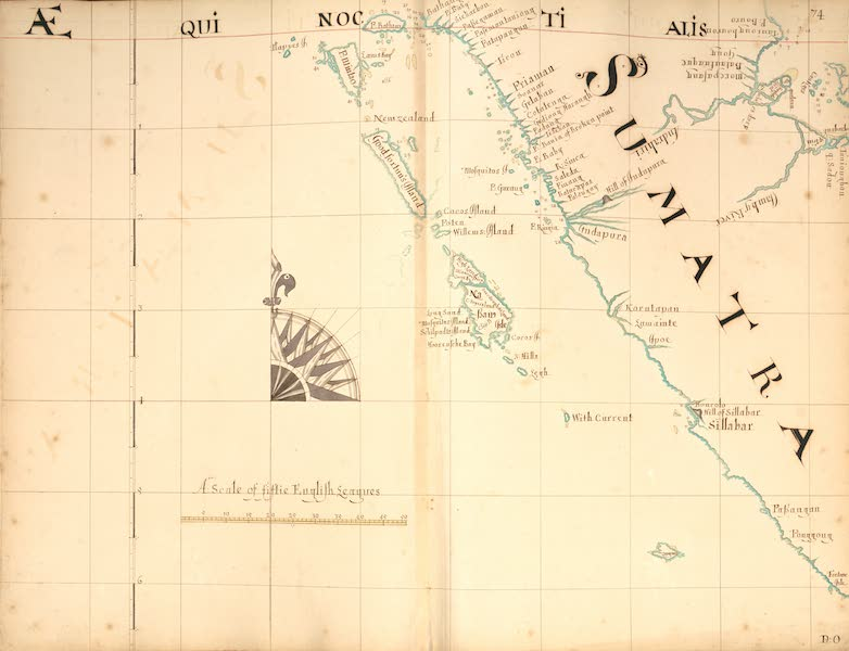 A Description of the Sea Coasts in the East Indies - 74) Sumatra (1690)