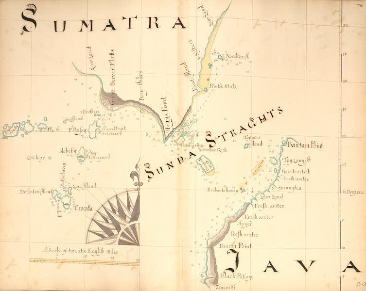 A Description of the Sea Coasts in the East Indies - 78) Sumatra, Sunda Straghts, Java (1690)