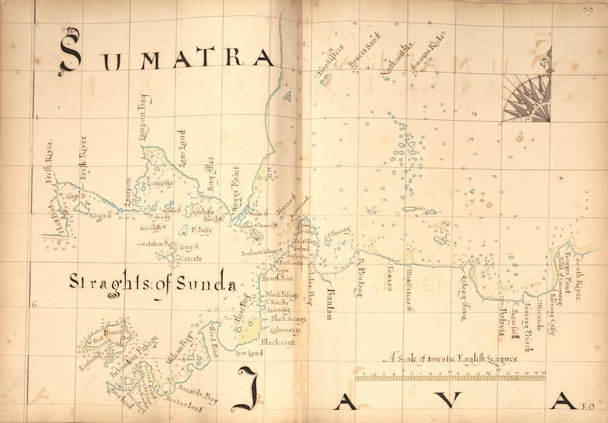 A Description of the Sea Coasts in the East Indies - 79) Sumatra, Straghts of Sunda, Java (1690)