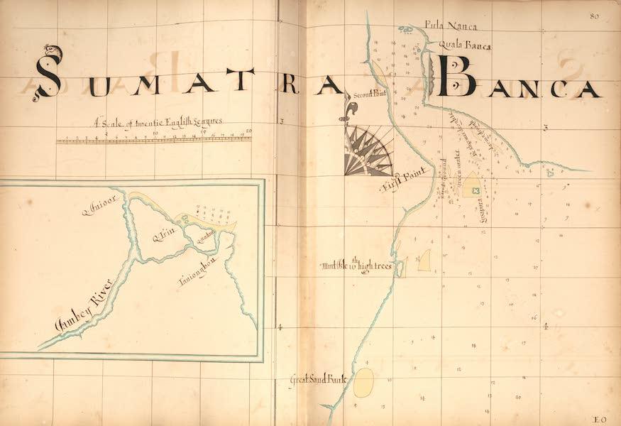A Description of the Sea Coasts in the East Indies - 80) Sumatra, Banca [I] (1690)
