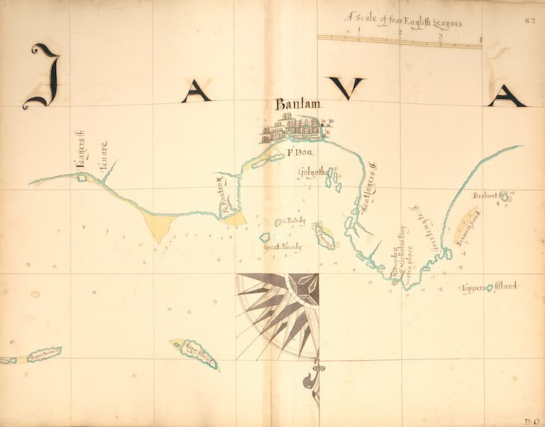 A Description of the Sea Coasts in the East Indies - 82) Java [I] (1690)