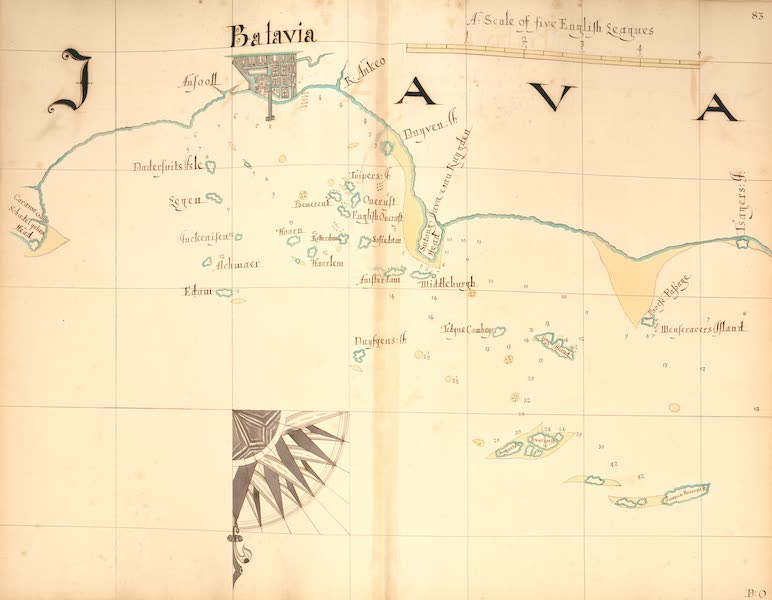 A Description of the Sea Coasts in the East Indies - 83) Java [II] (1690)