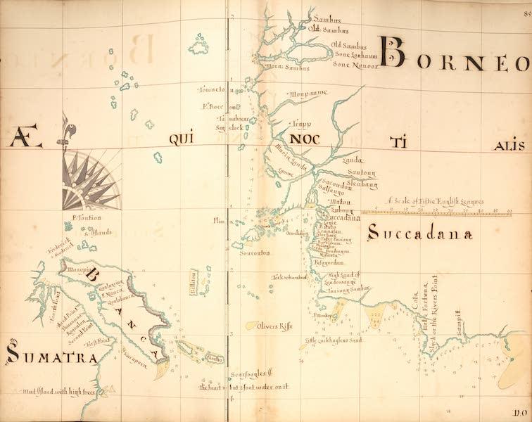 A Description of the Sea Coasts in the East Indies - 85) Sumatra, Banca, Borneo, Succadana (1690)