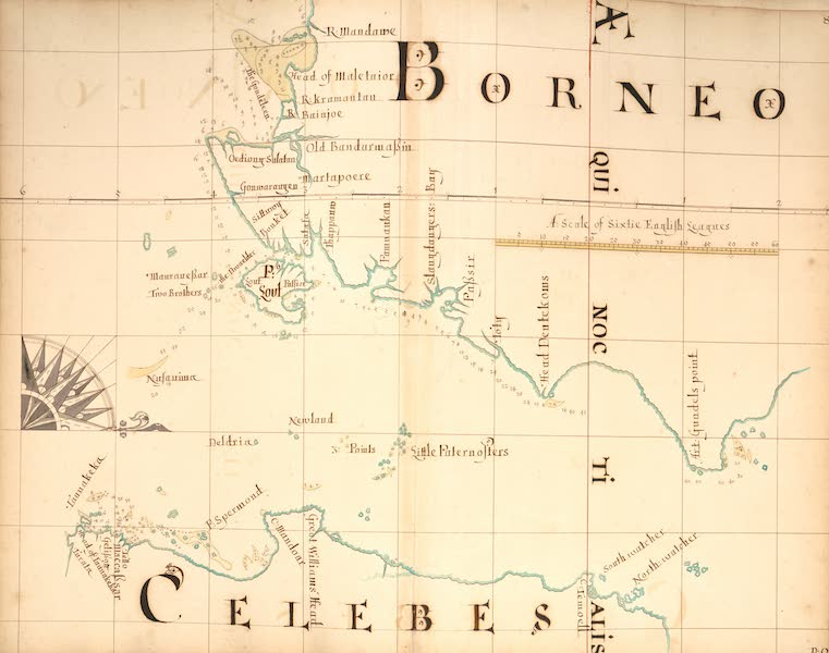 A Description of the Sea Coasts in the East Indies - 86) Borneo, Celebes (1690)