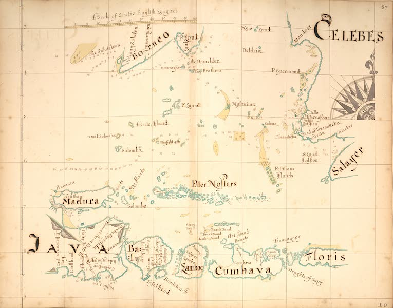 A Description of the Sea Coasts in the East Indies - 87) Celebes, Java (1690)