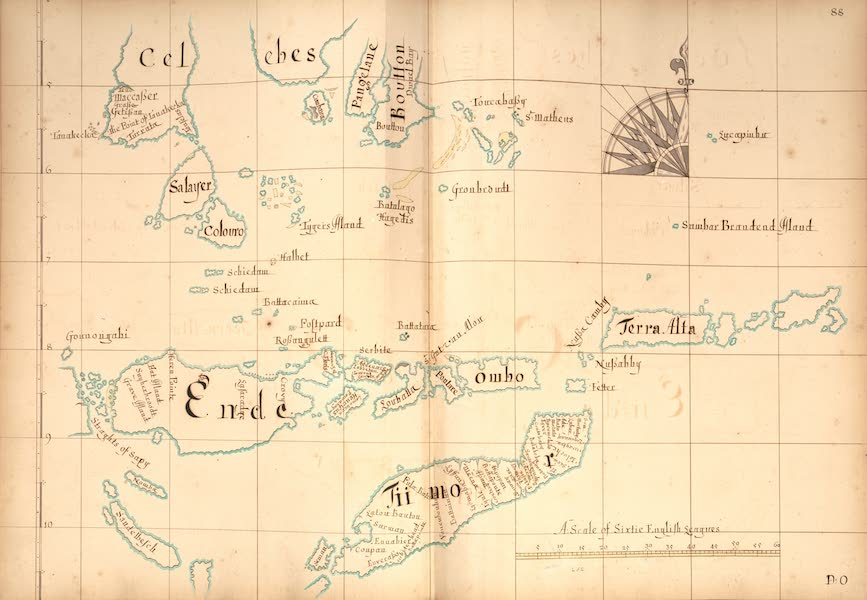 A Description of the Sea Coasts in the East Indies - 88) Celebes, Ende, Tiimor (1690)