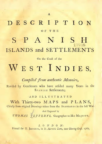English - A Description of the Spanish Islands and Settlements