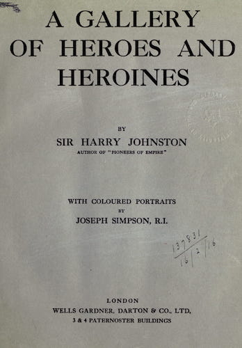 English - A Gallery of Heroes and Heroines