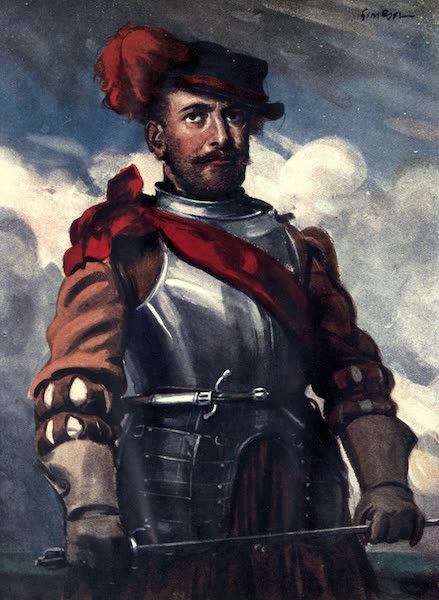 A Gallery of Heroes and Heroines - Francis Drake (1915)