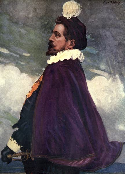 A Gallery of Heroes and Heroines - Walter Raleigh (1915)