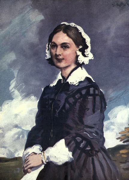 A Gallery of Heroes and Heroines - Florence Nightingale (1915)
