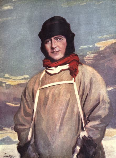A Gallery of Heroes and Heroines - Robert Falcon Scott of the Antarctic (1915)