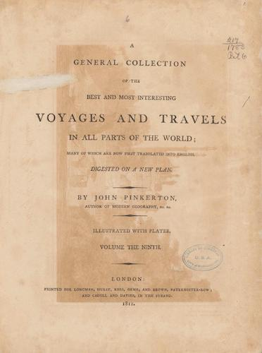 World Digital Library - A General Collection of Voyages and Travels Vol. 9