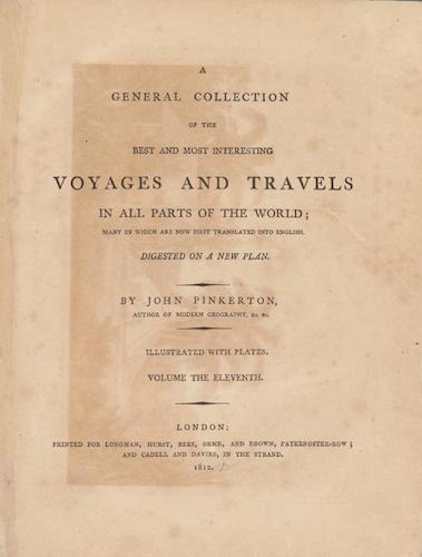 English - A General Collection of Voyages and Travels Vol. 11