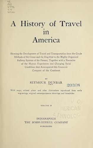 English - A History of Travel in America Vol. 4