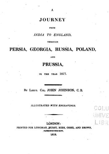 English - A Journey from India to England