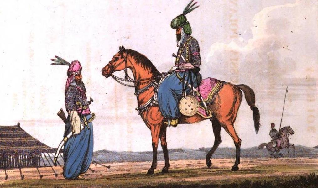 A Journey from India to England - Khoords [Frontispiece] (1818)