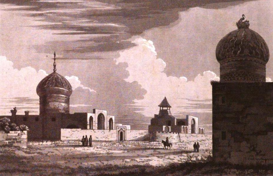 A Journey from India to England - Tomb of Fautema (1818)