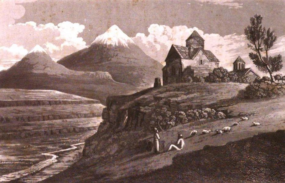 A Journey from India to England - Mount Ararat (and an ancient church of Greek Christians) (1818)