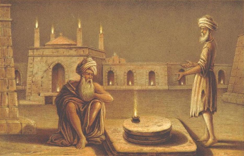 A Journey from London to Persepolis - Baku Fire Temple (1865)
