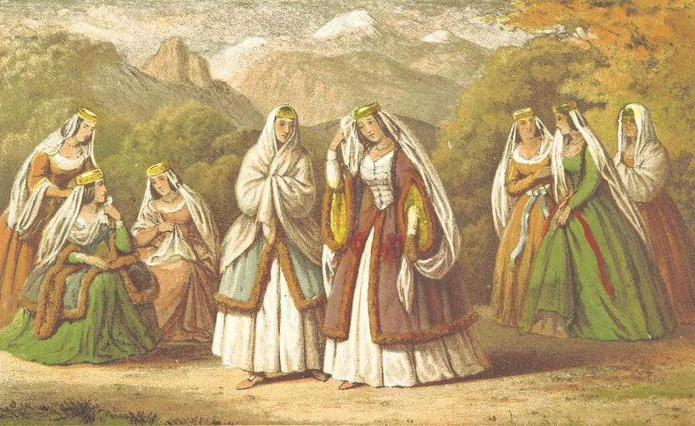 A Journey from London to Persepolis - Georgian Costumes (1865)
