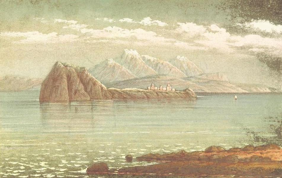 A Journey from London to Persepolis - Akthamar from Aghavank (1865)