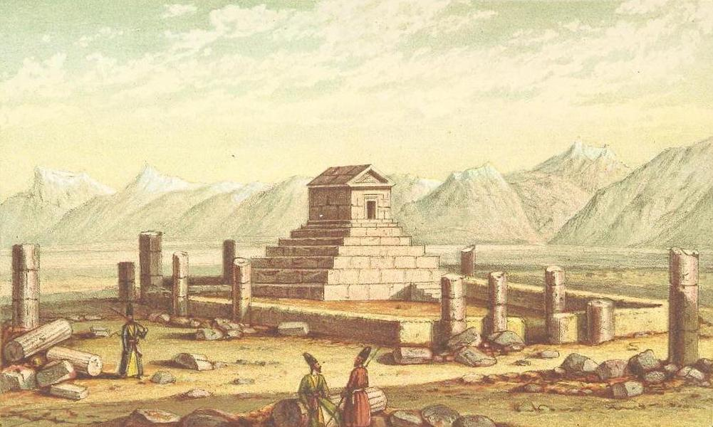 A Journey from London to Persepolis - Tomb of Cyrus, Murghaub (1865)