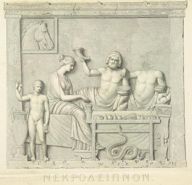 A Journey through Albania, and other Provinces of Turkey - [Greek Bas-Relief] (1813)