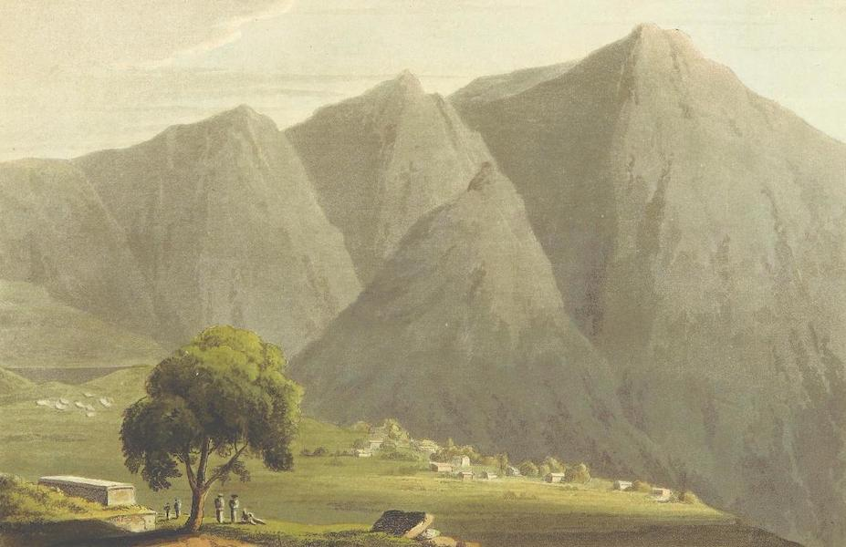 A Journey through Albania, and other Provinces of Turkey - Remains of the Stadium at Delphi, the village of Castri, & the Castalian summits of Parnassus (1813)