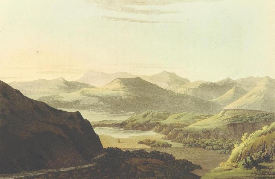 A Journey through Albania, and other Provinces of Turkey - View of the Valley of Plistus, with part of the Gulph of Salama (1813)
