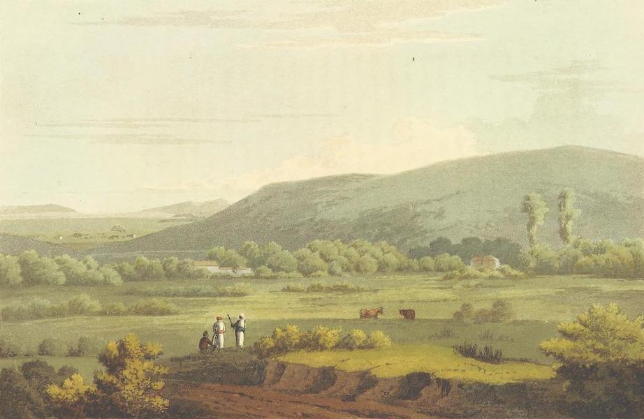 A Journey through Albania, and other Provinces of Turkey - The village of Marathon with a distant view of the plain (1813)