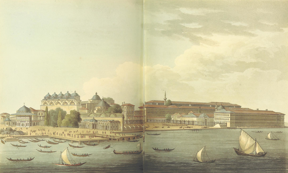 A Journey through Albania, and other Provinces of Turkey - View of Tophana of the Artillery Arsenal at Constantinople (1813)