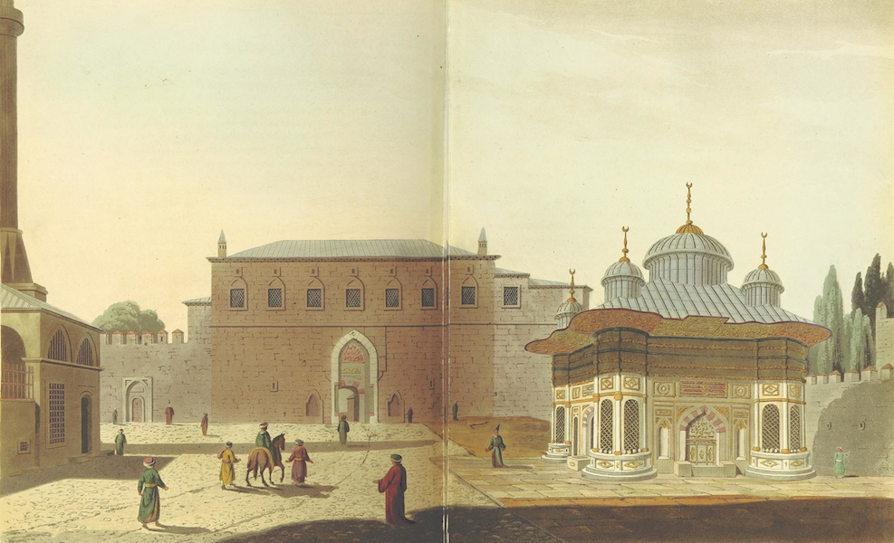 A Journey through Albania, and other Provinces of Turkey - First Gate of the Seraglio (1813)