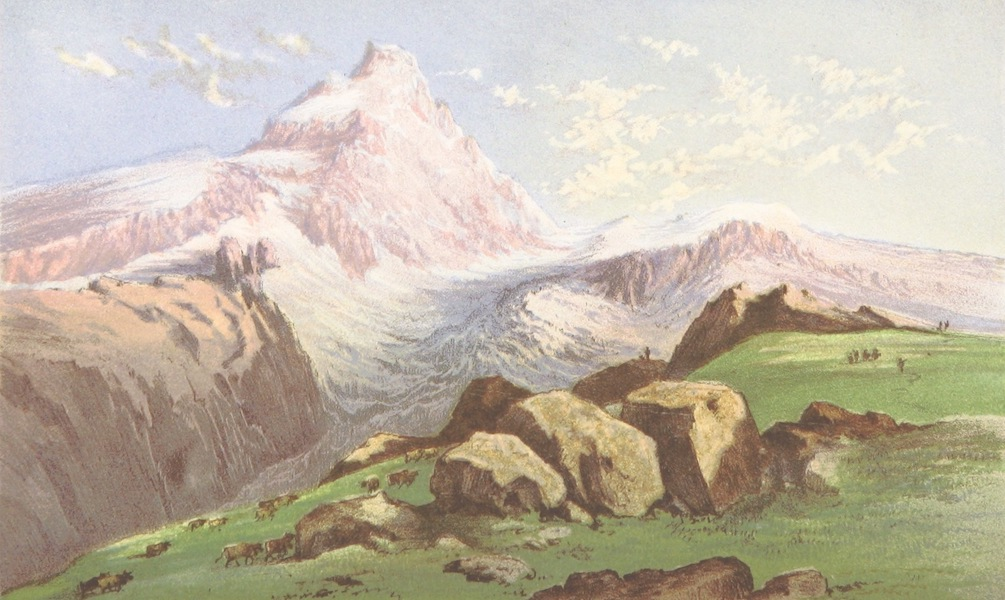 A Lady's Tour Round Monte Rosa - Mont Cervin from Breuil (1859)