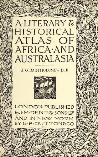 English - A Literary & Historical Atlas of Africa and Australasia