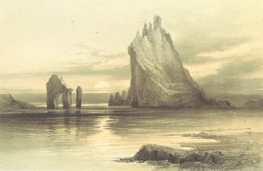 Three Rocks Called Crasholm, Findholm and Drag