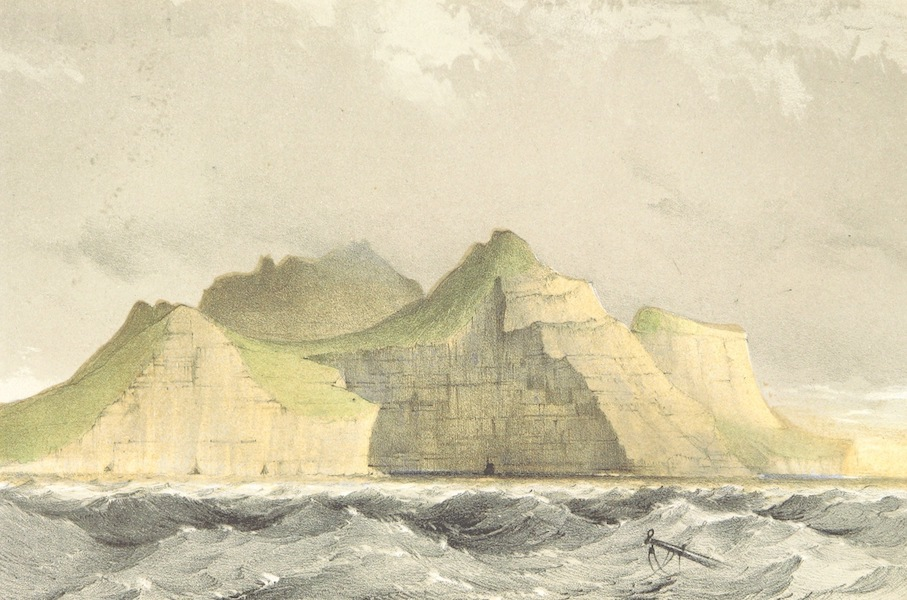 A Narrative of the Cruise of the Yacht Maria - The Northern Termination of the Island of Kalsoe (1855)