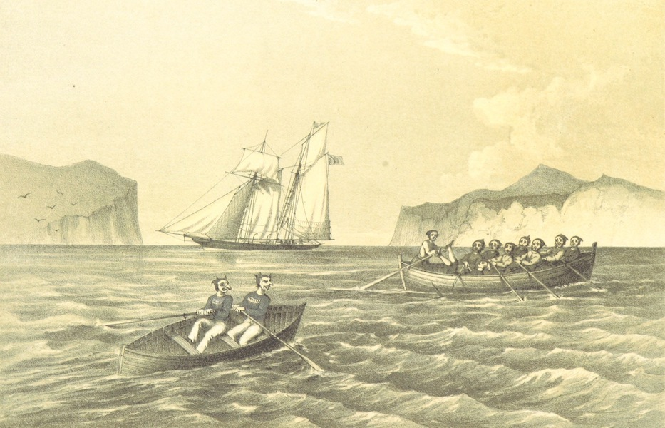 A Narrative of the Cruise of the Yacht Maria - Astonishing the Natives (1855)