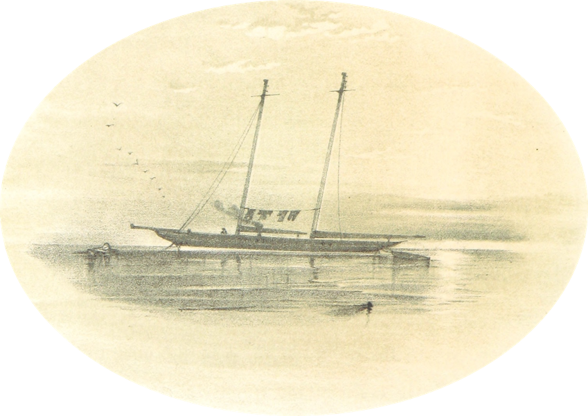 A Narrative of the Cruise of the Yacht Maria - Laid Up for the Winter (1855)