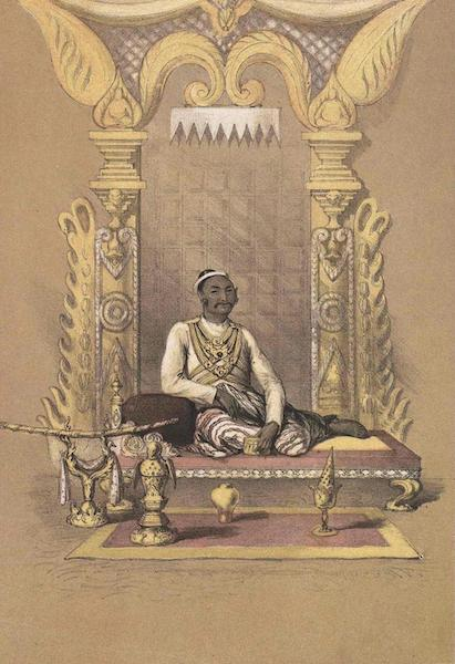 A Narrative of the Mission to the Court of Ava - The King (1858)