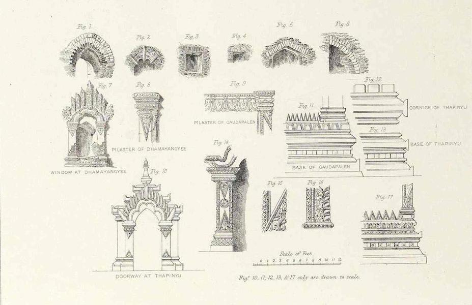 A Narrative of the Mission to the Court of Ava - Architectural Details of Remains at Pagan (1858)